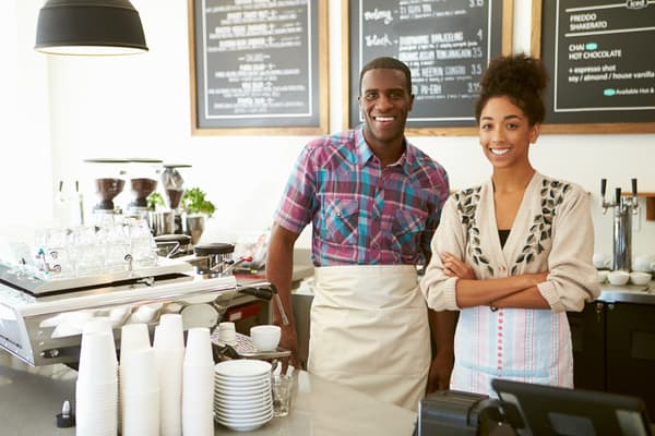Happy-Couple-Coffee-Shop-Individual-401(k)
